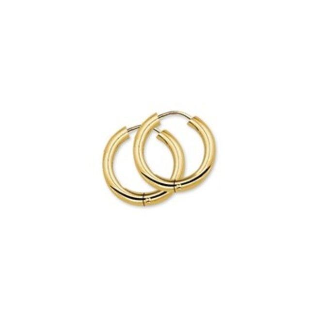 Gouden Essentials oorsieraad (No. 42) 40.01660