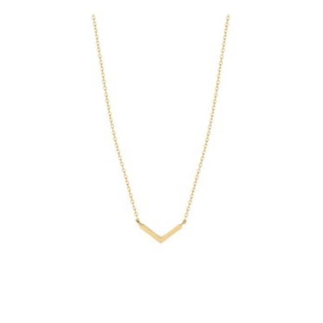 Gouden Essentials collier (No. 28) 40.18668
