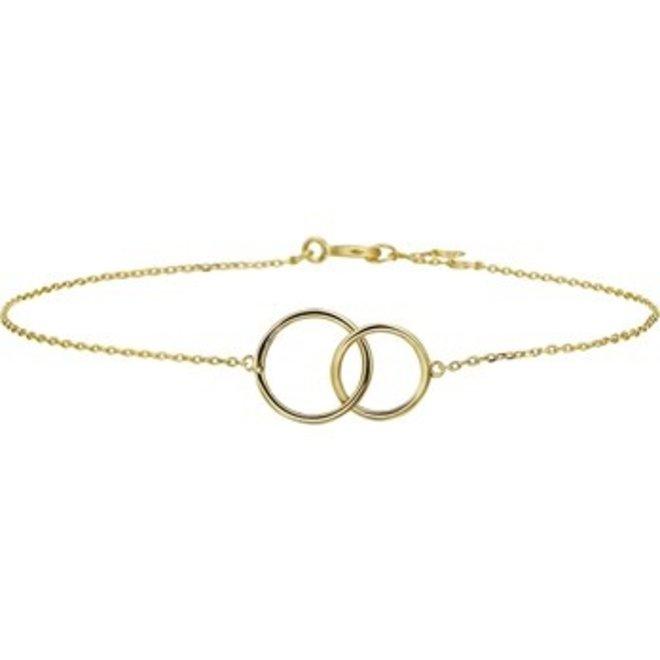 Gouden Essentials armband (No. 14) 40.18143