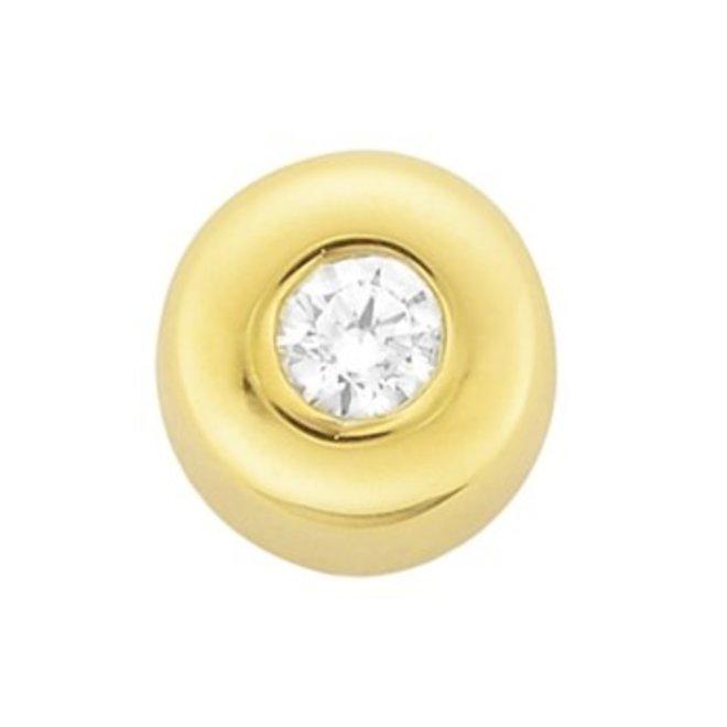 Gouden Essentials hanger zirkonia (No. 23) 40.14792