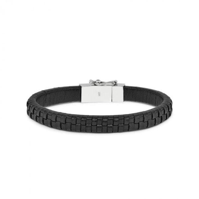 S!lk Jewellery armband DOUBLE LINKED 240BLK