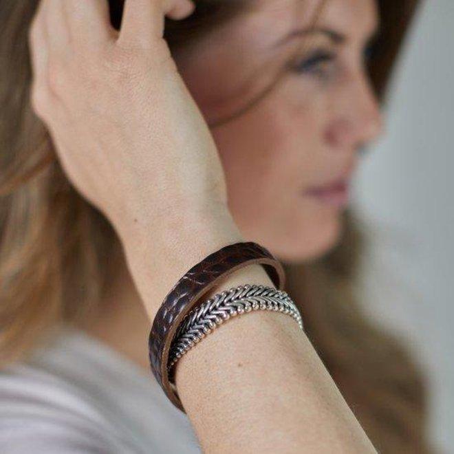 S!lk Jewellery armband CLASSIC CHEVRON 214BRC
