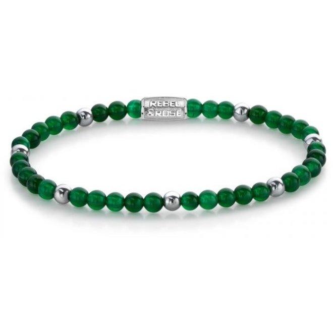 Rebel&Rose armband More Balls Than Most - Green Harmony 40052-S