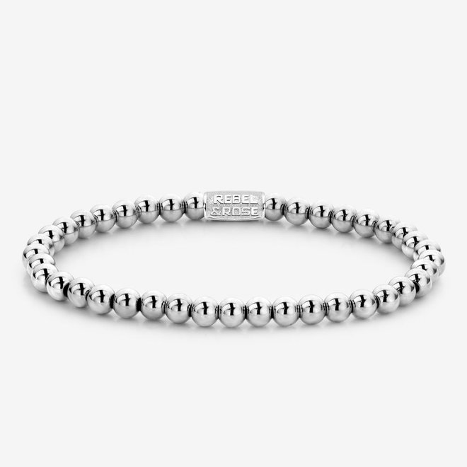 Rebel&Rose armband Stones Only - Only silver Shine 40040-S