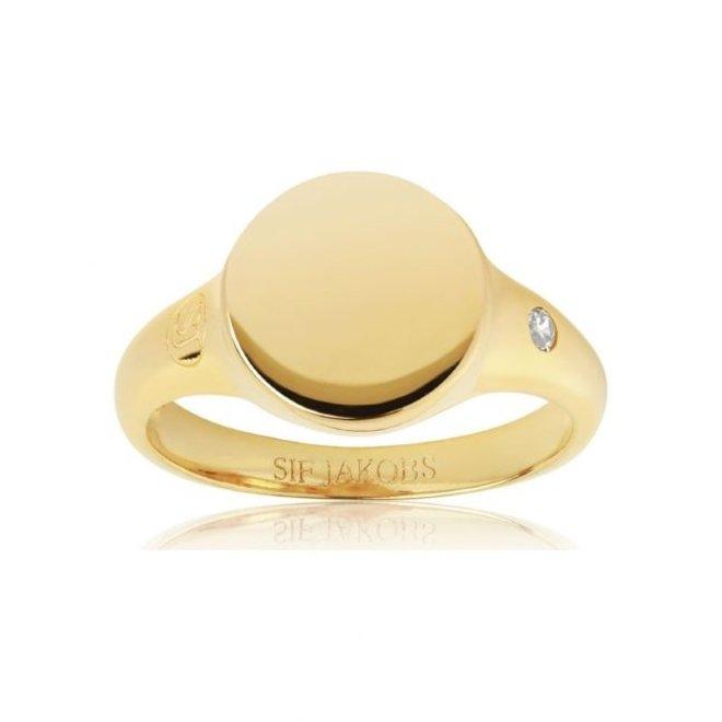 Sif Jakobs Follina Pianura Piccolo ring SJ-R1069-CZ-YG/54