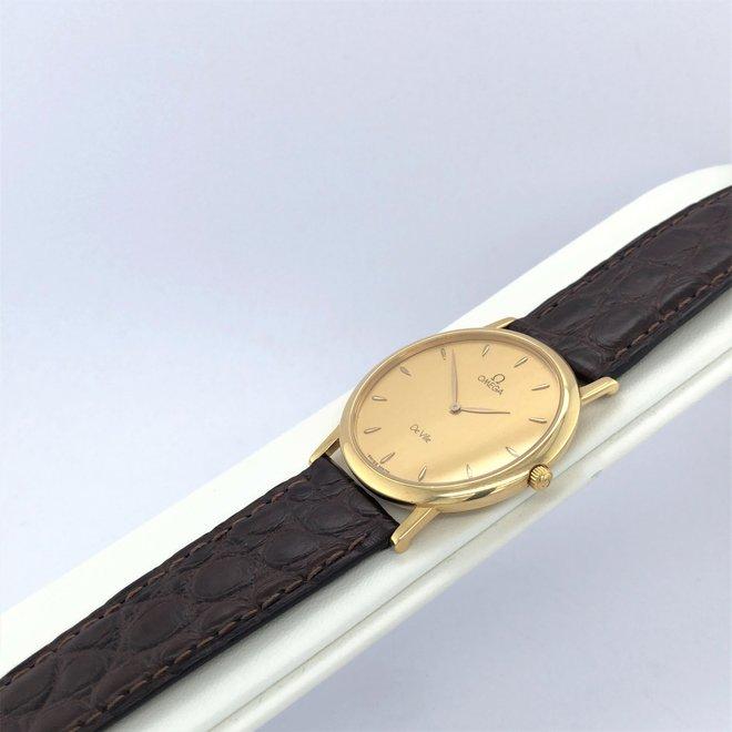 Geelgouden occasion Omega De Ville horloge