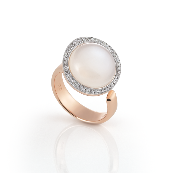 Al Coro Gioia ring roségoud NR8254MR