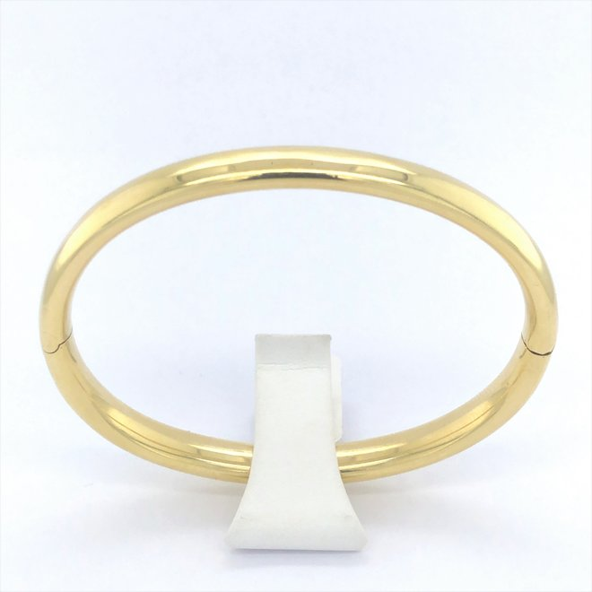 Geelgouden occasion armband bangle
