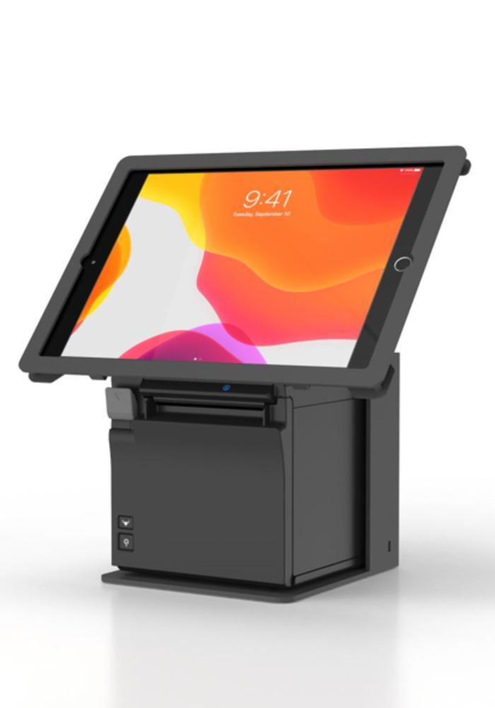 """iPad 10,2"""" Halterung für iPad 10,2"""" und Drucker Epson TM-M30II"""