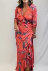 STARDUST STARDUST SWEETHEART FLAMENCO MAXI DRESS
