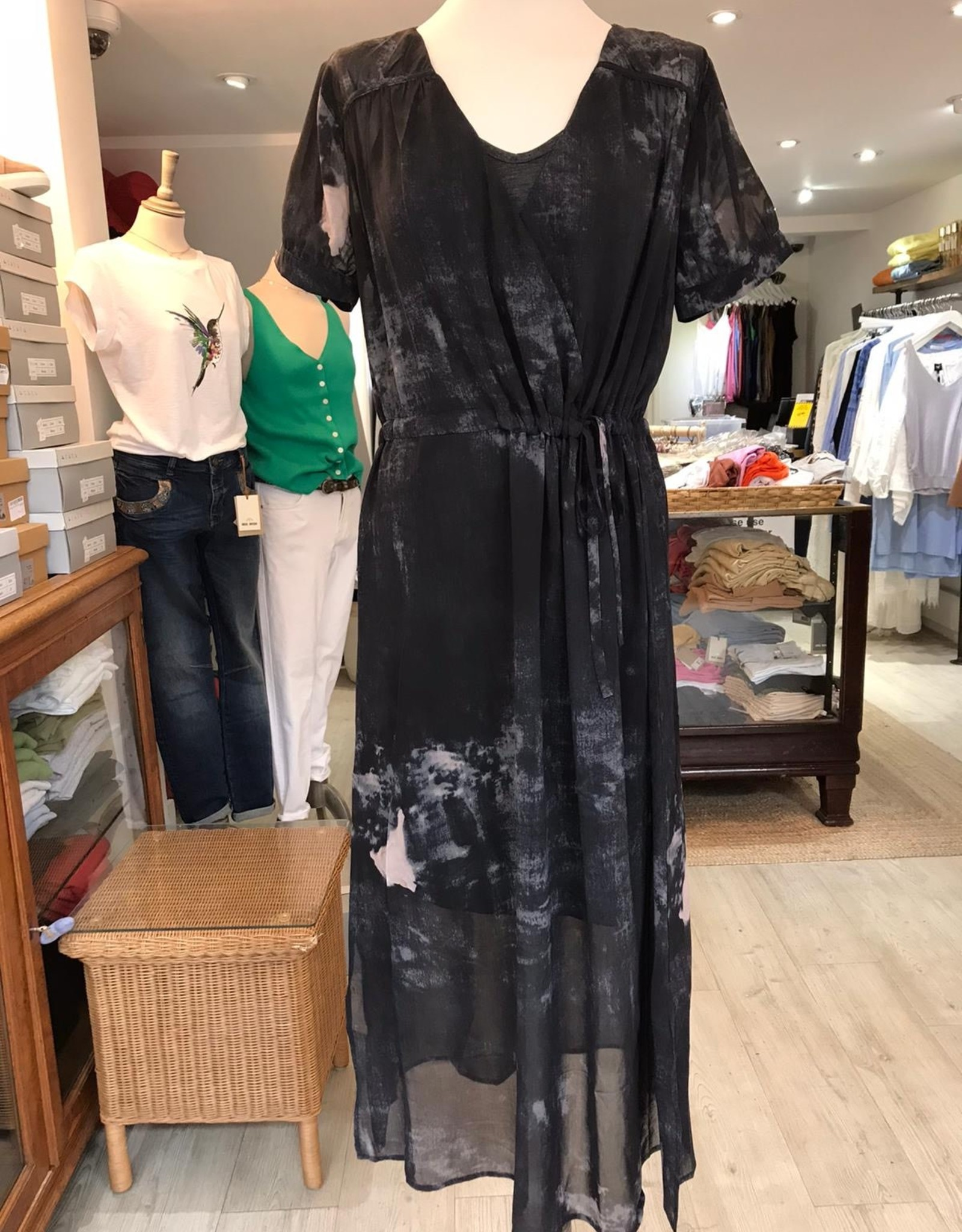 NU DANISH DOT DRESS  6408-23 BY NU