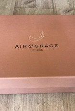 AIR & GRACE COPELAND TRAINER WHITE & LEOPARD