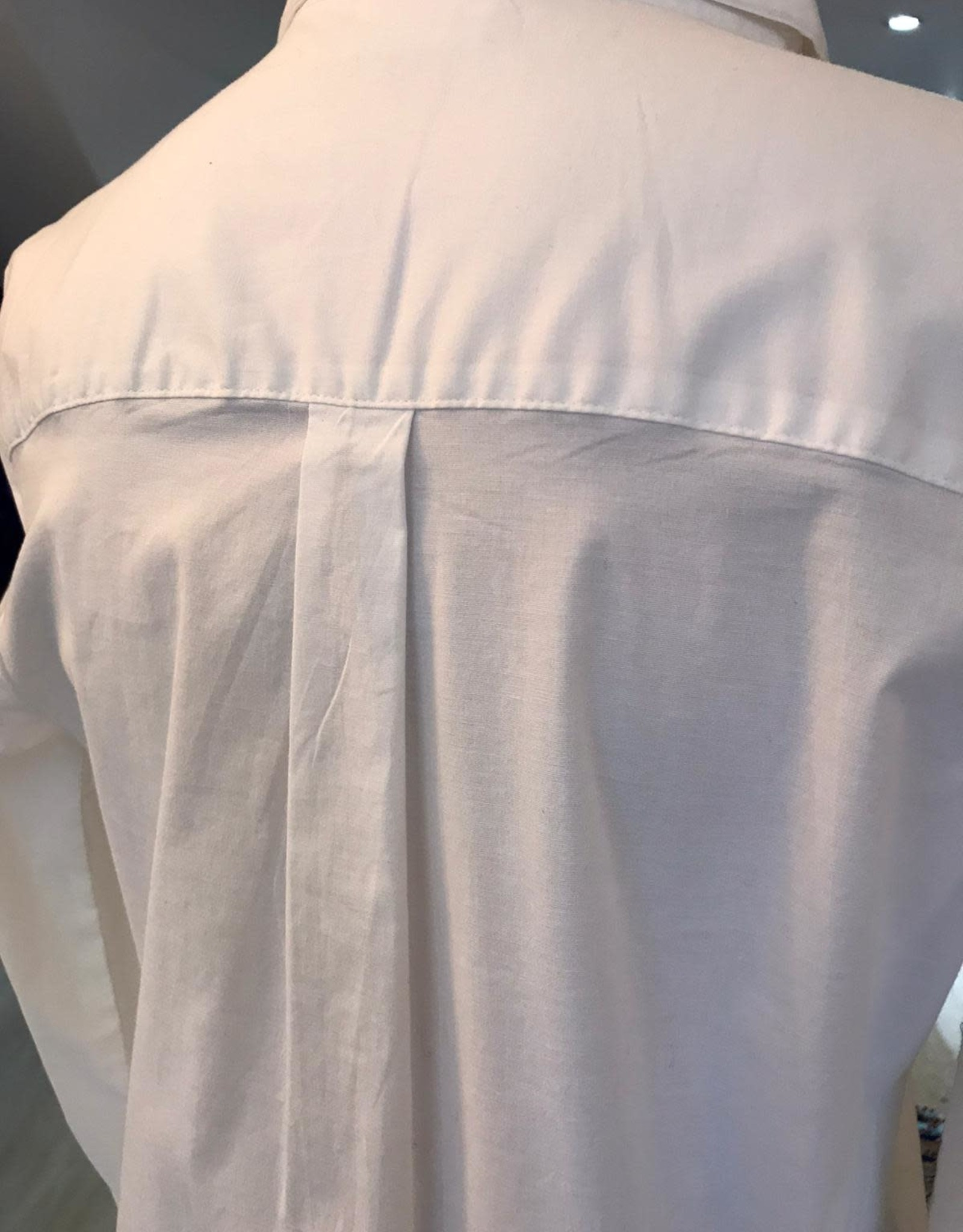 SAINT TROPEZ LONG WHITE SHIRT  U1802 SAINT TROPEZ