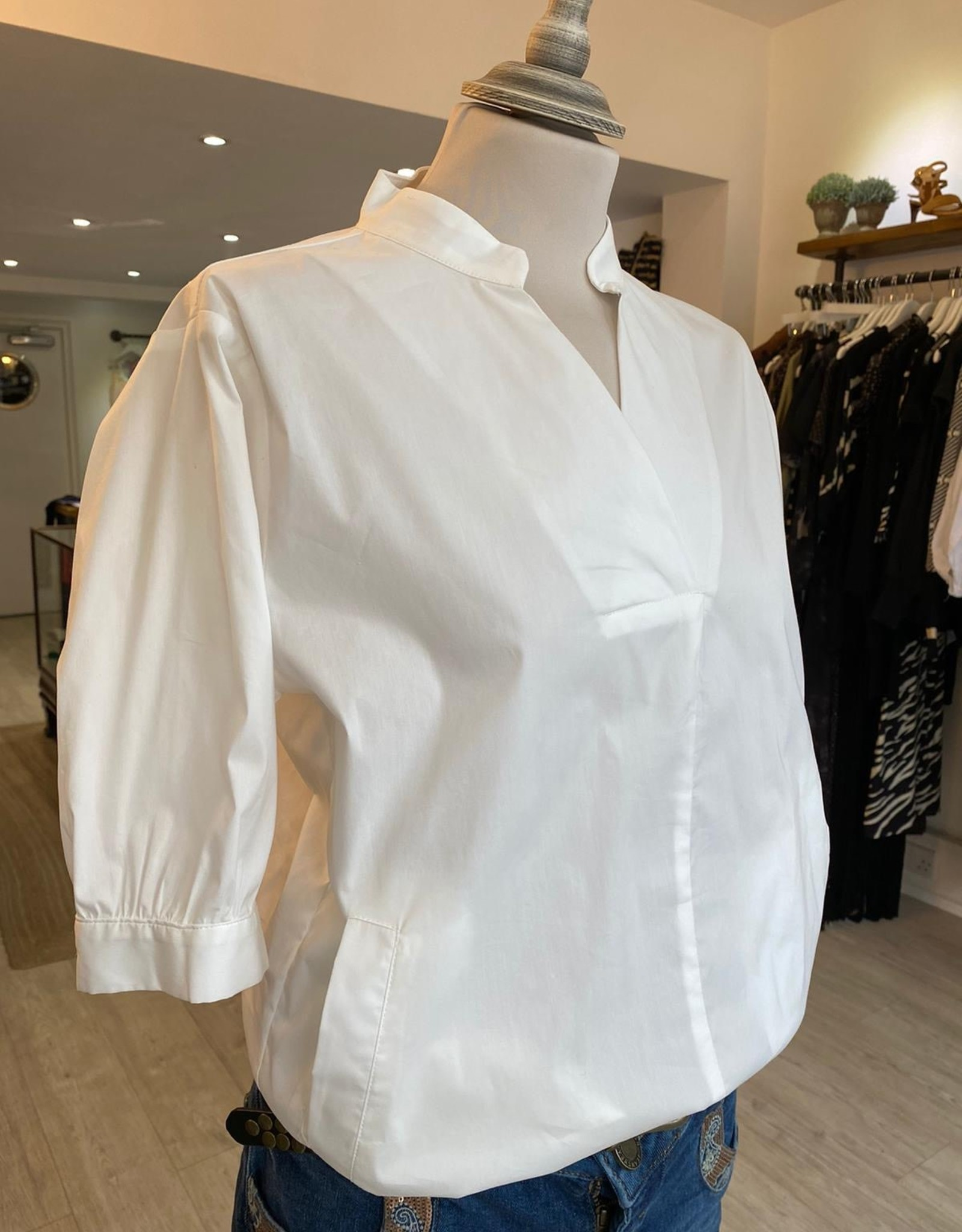ANONYME (ITALIAN) THAIS ALBA BLOUSE / SS SHIRT  P260ST113 FROM ANONYME