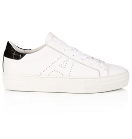 AIR & GRACE ROXY WHITE & BLACK PLATFORM TRAINER