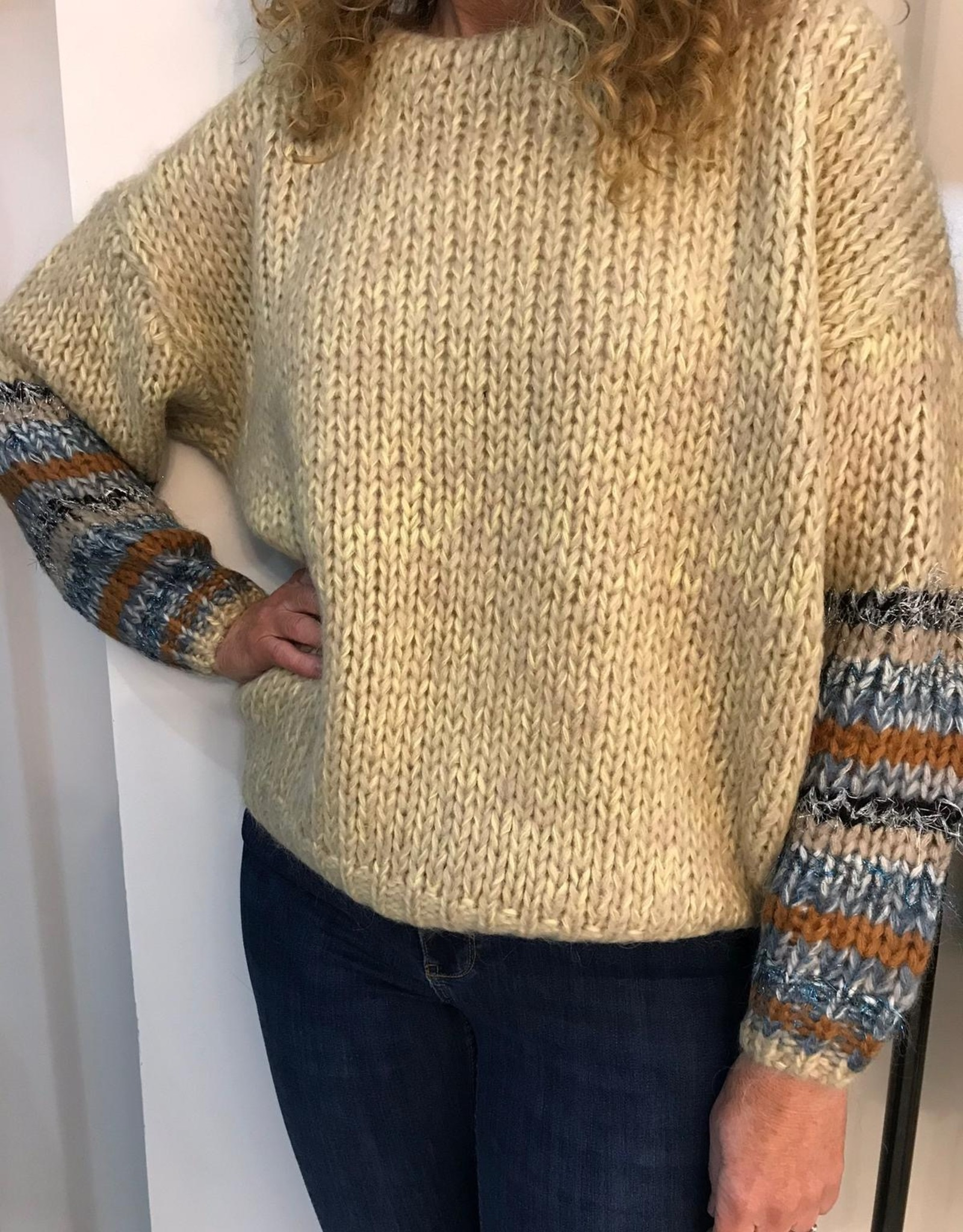 COSTER COPENHAGEN COSTER HAND KNITTED SWEATER 2561