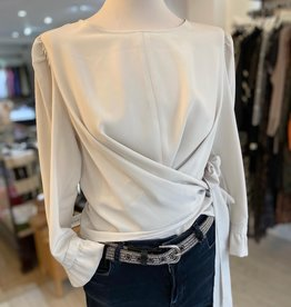 ACCESS ABBEE BLOUSE W TIE FRONT WO-2058-164 BY ACCESS