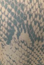 COSTER COPENHAGEN SNAKE PRINT SKIRT W. BIAS CUT 205-4558 FROM COSTER