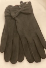 DENTS FAUX SUEDE 3 POINT GLOVES FROM DENTS 6-4260