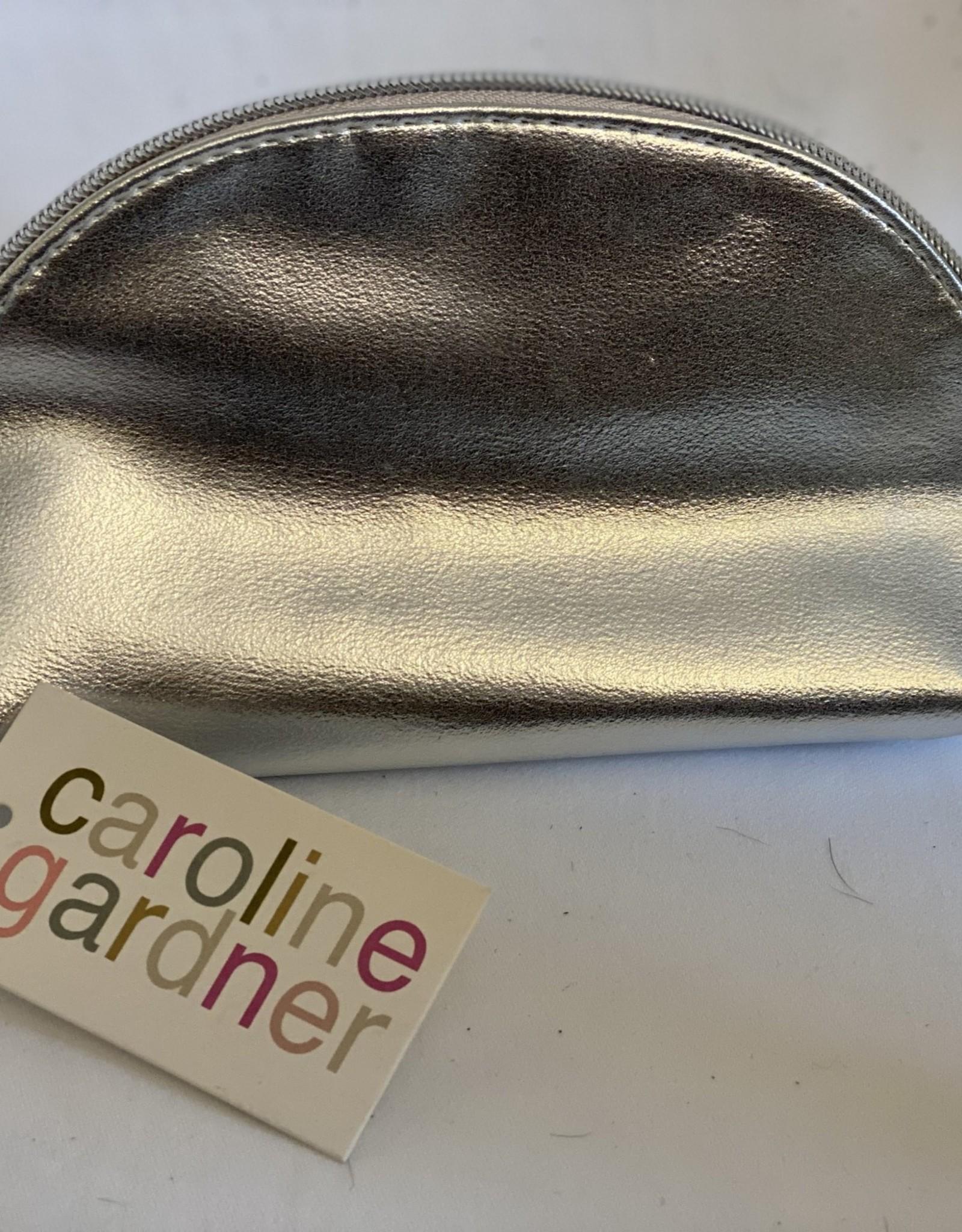 CAROLINE GARDNER HALF MOON COSMETIC BAG/POUCH  BY CAROLINE GARDNER