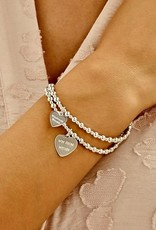 """ANNIE HAAK MINI ORCHID  """"WIN FROM WITHIN"""" STERLING SILVERCHARM BRACELET  FROM ANNIE HAAK"""