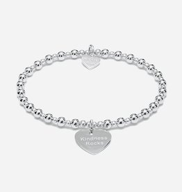 "ANNIE HAAK MINI ORCHID  ""KINDNESS ROCKS"" STERLING SILVER BRACELET  FROM ANNIE HAAK"