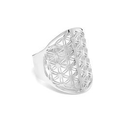 "ANNIE HAAK ""FLOWER OF LIFE"" SILVER RING  FROM ANNIE HAAK"