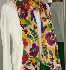CONCRETO LUXURY PORTUGESE WEAR FLORAL SCARF 0930/006