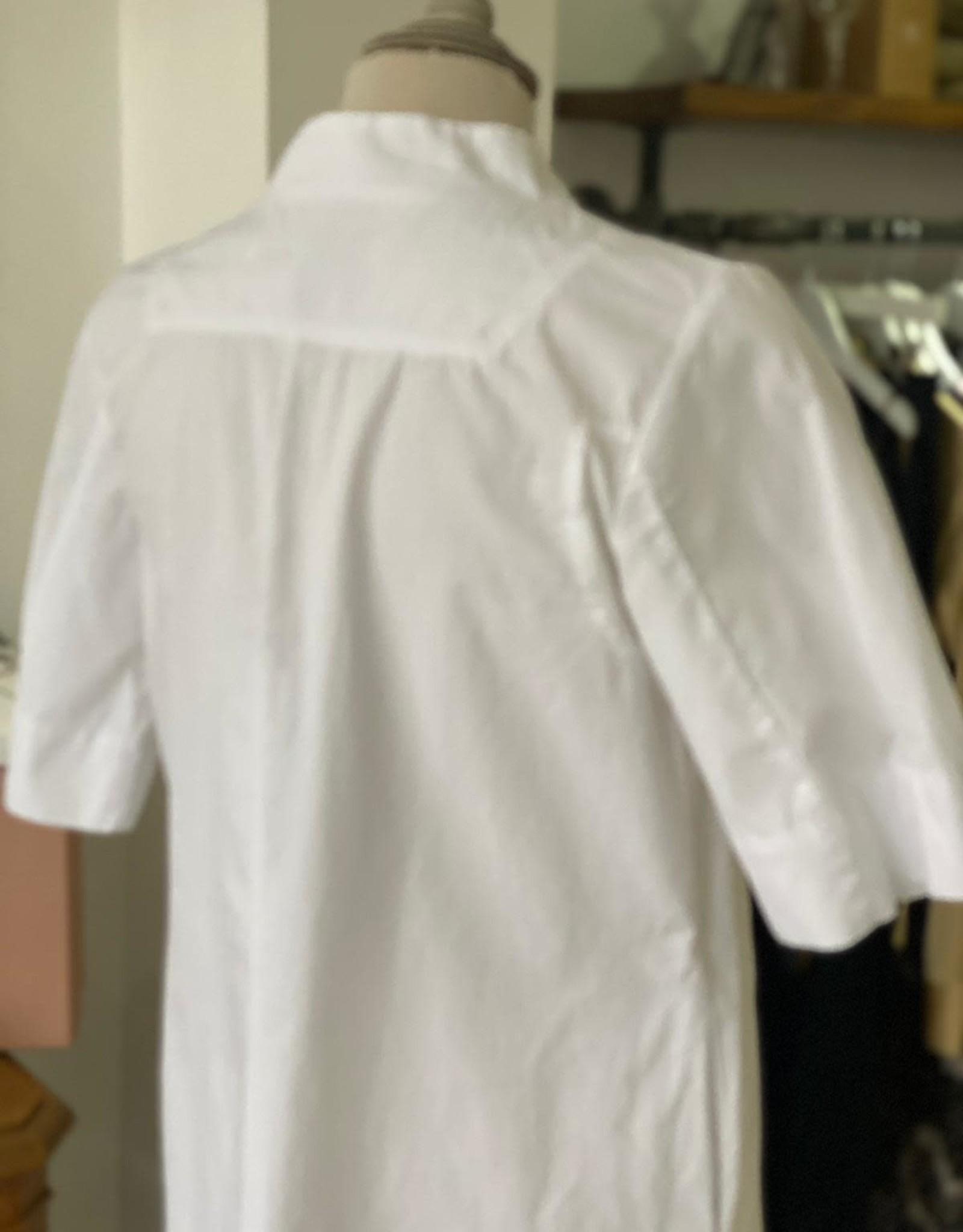EUROPEAN CULTURE ABITO MANICA CORTA DON V-NECK DRESS 14CU 3183 EUROPEAN CULTURE