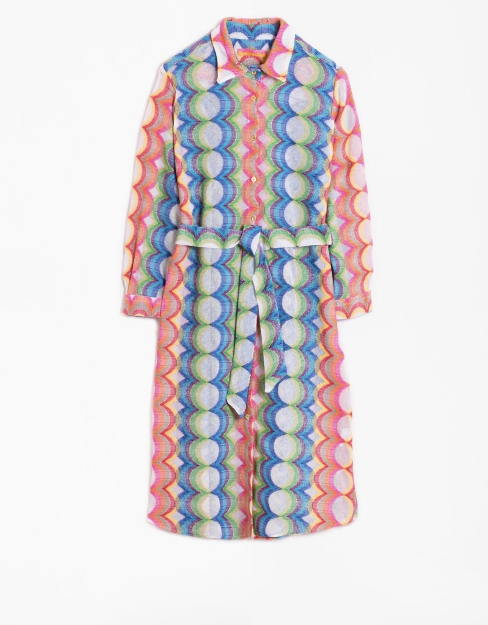 VILAGALLO SHIRT DRESS STYLE = DOVER 28111 VILAGALLO