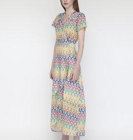 VILAGALLO WRAP DRESS STYLE = MYRNA 28171 VILAGALLO