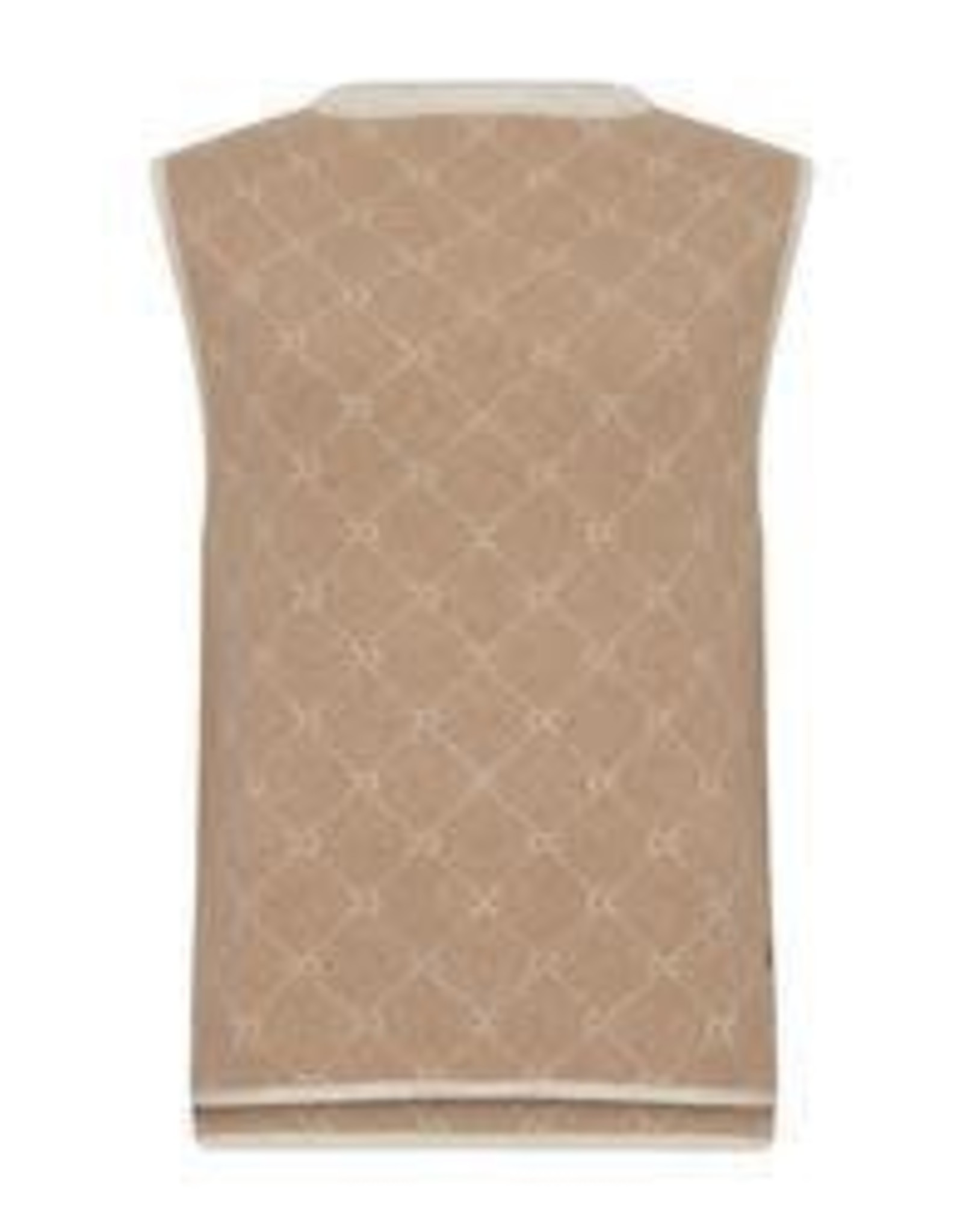 COSTER COPENHAGEN KNITTED VEST IN CC JAQUARD 211-2170