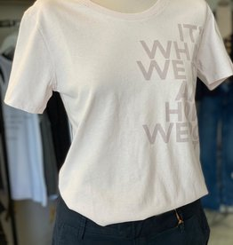 "ECOALF VEGAN AQUA T-SHIRT  ECOALF ""ITS WHAT WE DO AND HOW WE DO IT"" STYLE REF  GATSAQUAT8032 WS21/SS21"