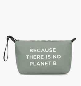 "ECOALF VEGAN VANITY BAG/CASE FROM ECOALF ""THERE IS NO PLANet B""."