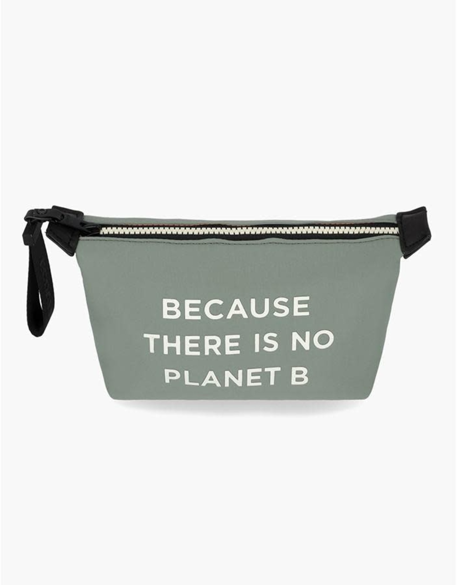"""ECOALF VANITY BAG/CASE FROM ECOALF """"THERE IS NO PLANet B""""."""