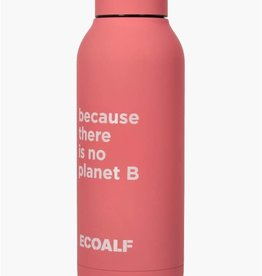 "ECOALF VEGAN STAINLESS STEEL WATER BOTTLE ECOALF ""THERE IS NO PLANet B"". GIFT BOXED"