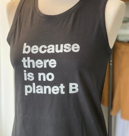 "ECOALF VEGAN RECYCLED CATALINA T-SHIRT VEST ""BECAUSE THERE IS NO PLANet B"" STYLE REF GATSCATAL8032 WS21/SS21"