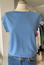 COSTER COPENHAGEN BASIC ROUND-NECK BALTIC BLUE 594 T-SHIRT B0017 / CCH1100 BY COSTER