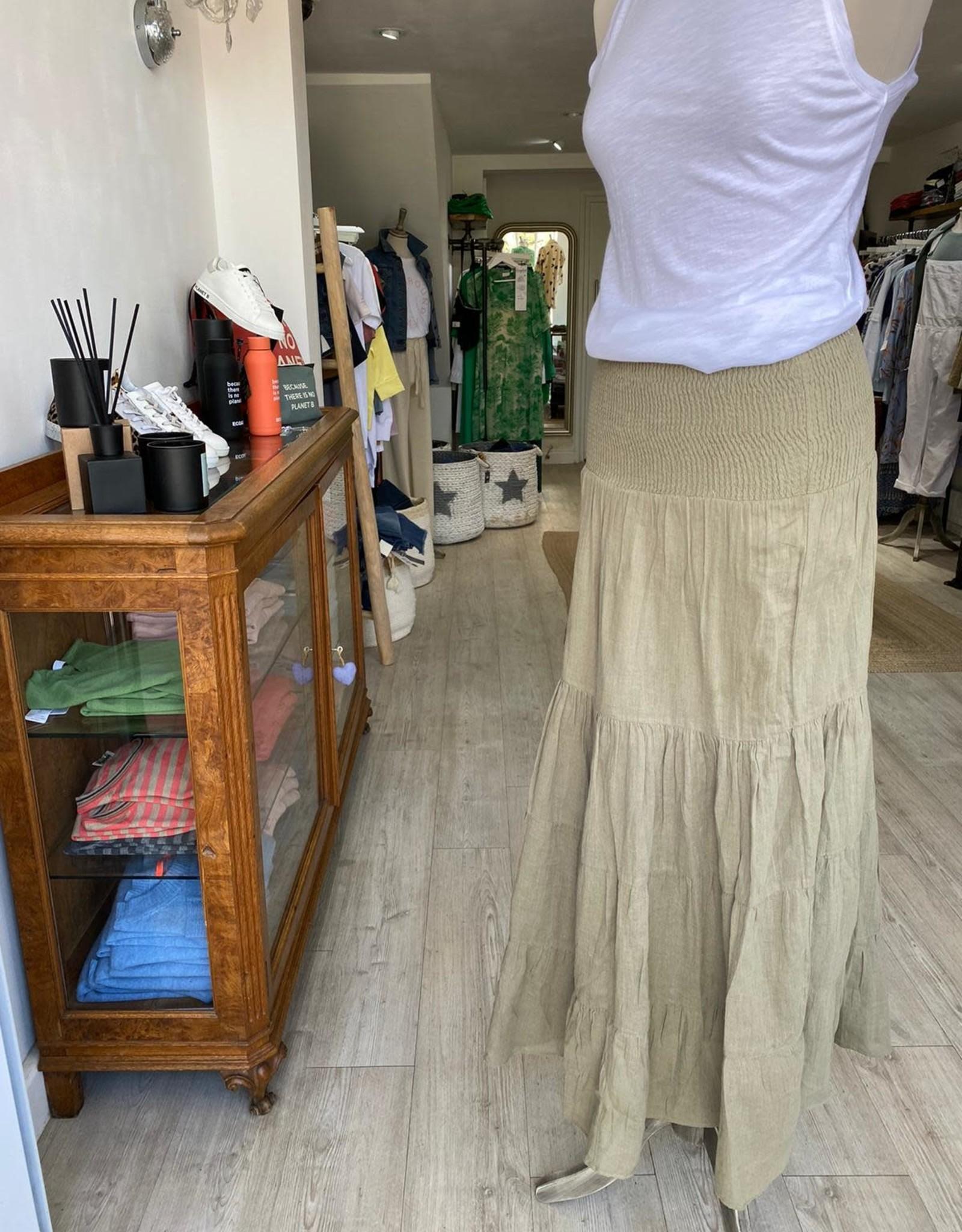 SAINT TROPEZ NAYA CHEESECLOTH SKIRT / DRESS SAINT TROPEZ