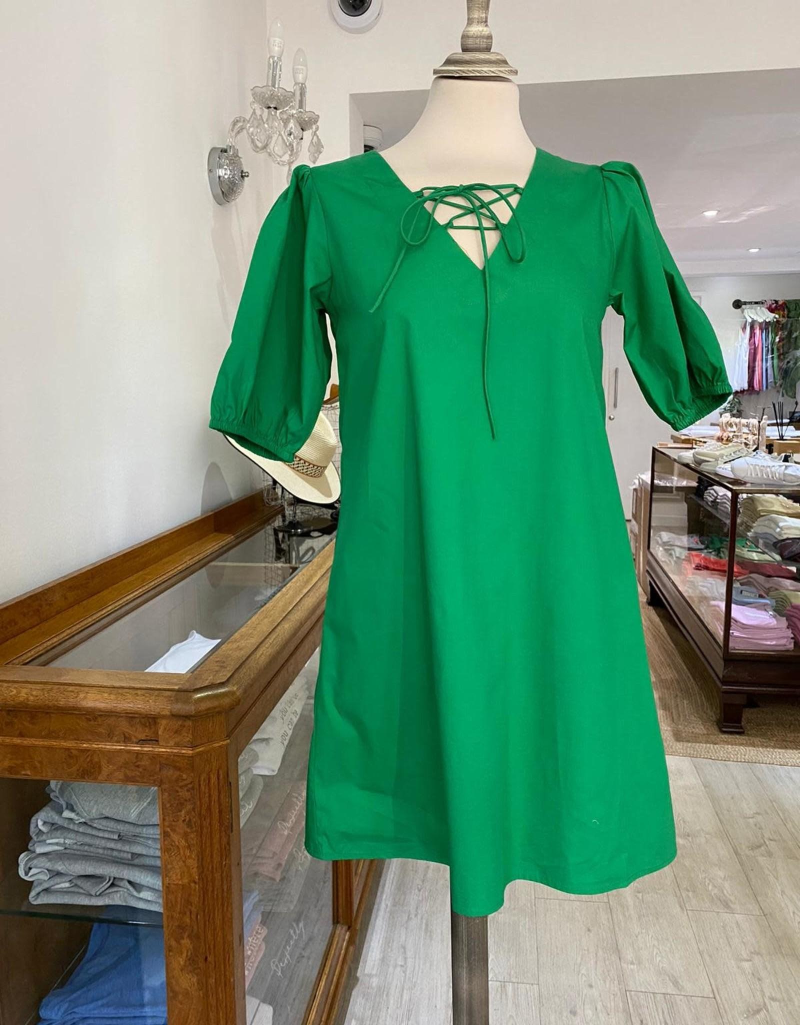 COMPANIA FANTASTICA HAN46 SHORT DRESS W SHORT SLEEVES