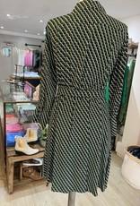 EMME MARELLA ZENOBIA ZIGZAG SHIRT DRESS BY EMME