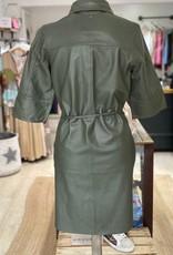 MOSMOSH BEATRICE LEATHER DRESS 139530