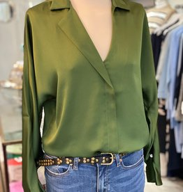 EMME MARELLA VARANO OPEN COLLAR NECK  BLOUSE BY EMME