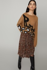ONTARIO CAMEL OVERSIZED WIDE NECK JUMPER BY IBLUES
