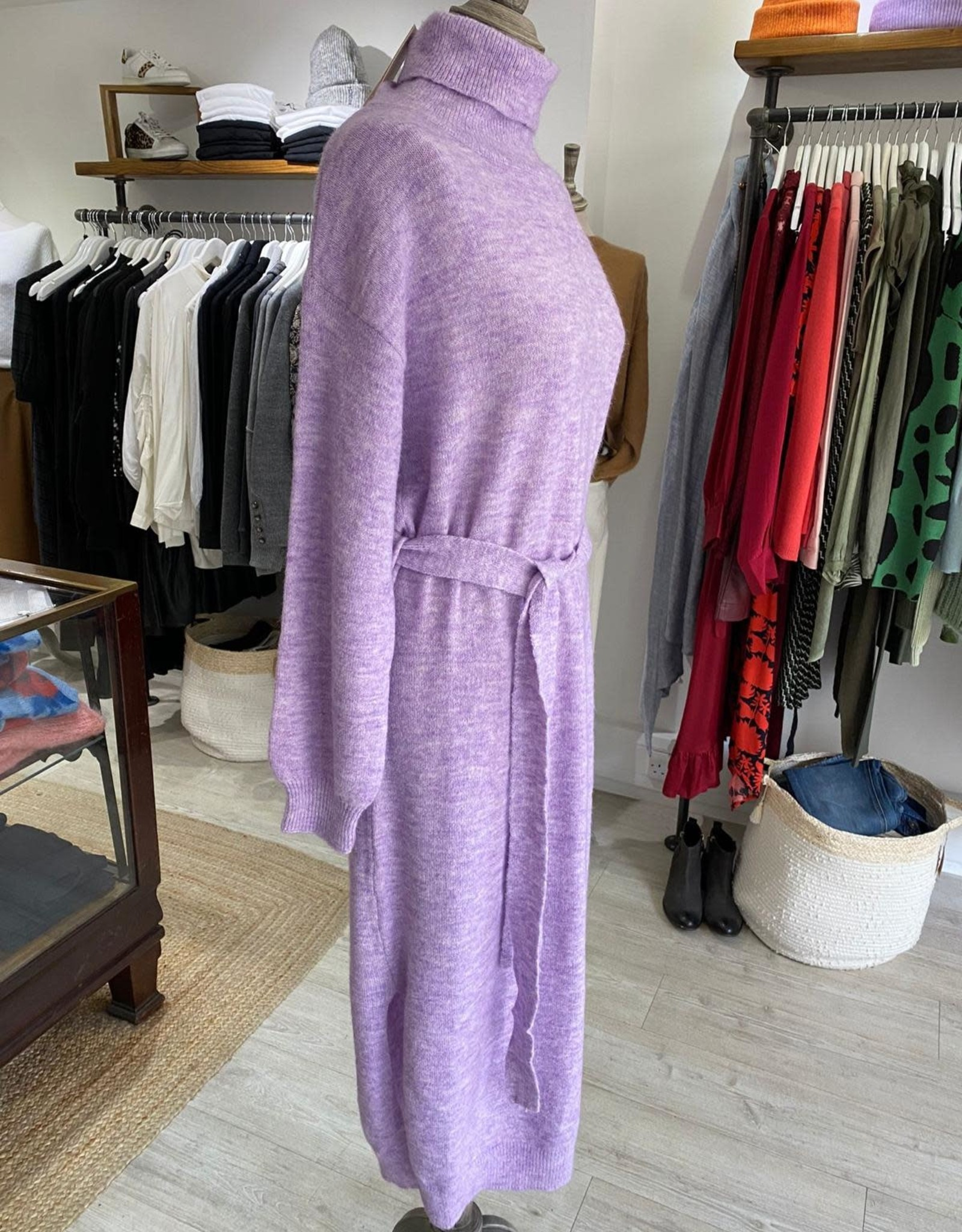 FRNCH AMORE KNITTED DRESS  MS21-46 BY FRNCH