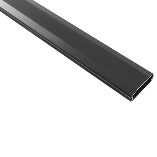 DQ Aluminium kabelgoot 110 cm zwart