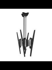 Vogel's Professional SET C/R 3064 Back-to-back TV Plafondbeugel Zilver/Zwart - 300 cm