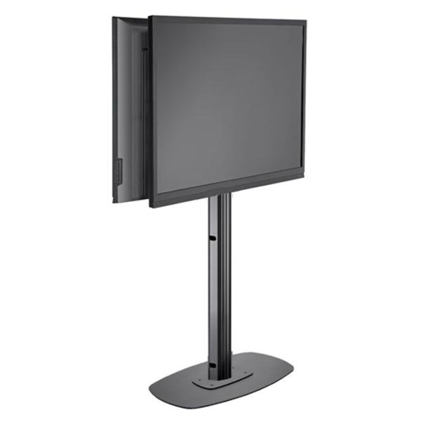 Vogel's Professional Vogel's SET FR 2064 Black 192 cm TV Vloerstandaard 2 Schermen