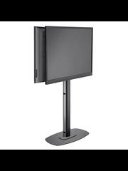 Vogel's Professional Vogel's SET FR 1864 Black 172 cm TV Vloerstandaard 2 Schermen