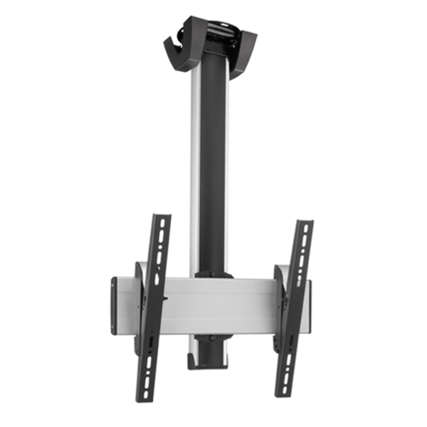 Vogel's Professional SET CT 0864 Black/Silver 80 cm TV Plafondbeugel - 360° Draaibaar